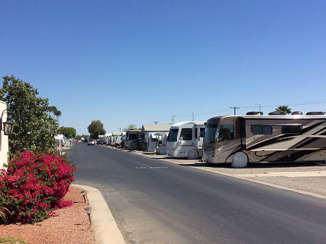 Rv parks yuma arizona area with full hookups